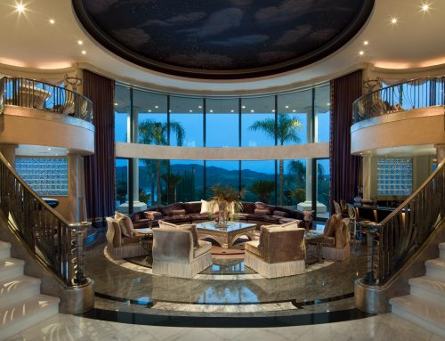 Luxury Home Rotunda